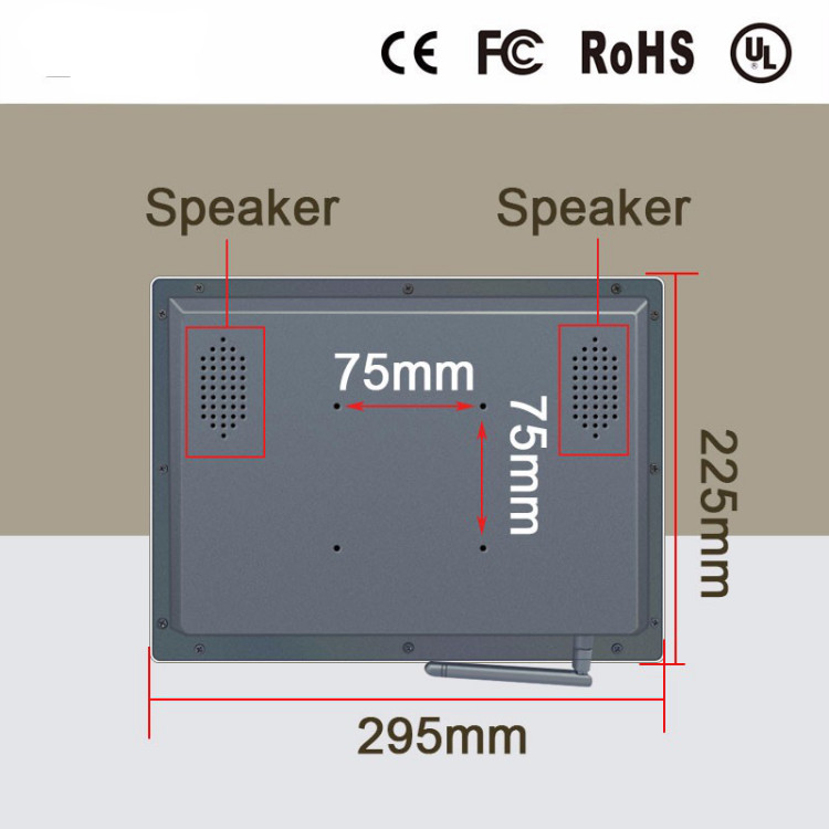 Image 5 - Full hd 1080p video player 12 inch all in one industrial computer / pos machine with 4G RAM,32G SSD And wifi-in Industrial Computer & Accessories from Computer & Office