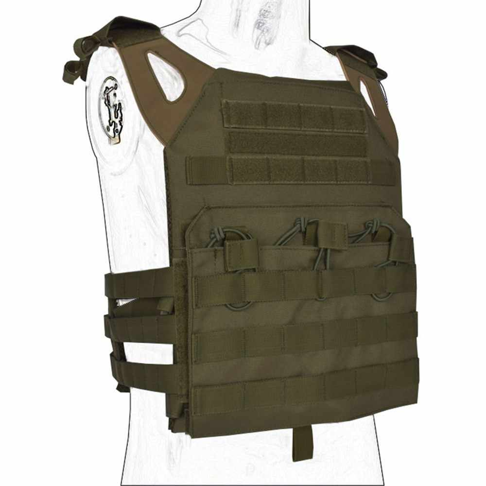 0532b089467af ... Tactical JPC Vest Body Armor Plate Carrier Molle Military Army Vest  Ammo Magazine Chest Rig Airsoft ...