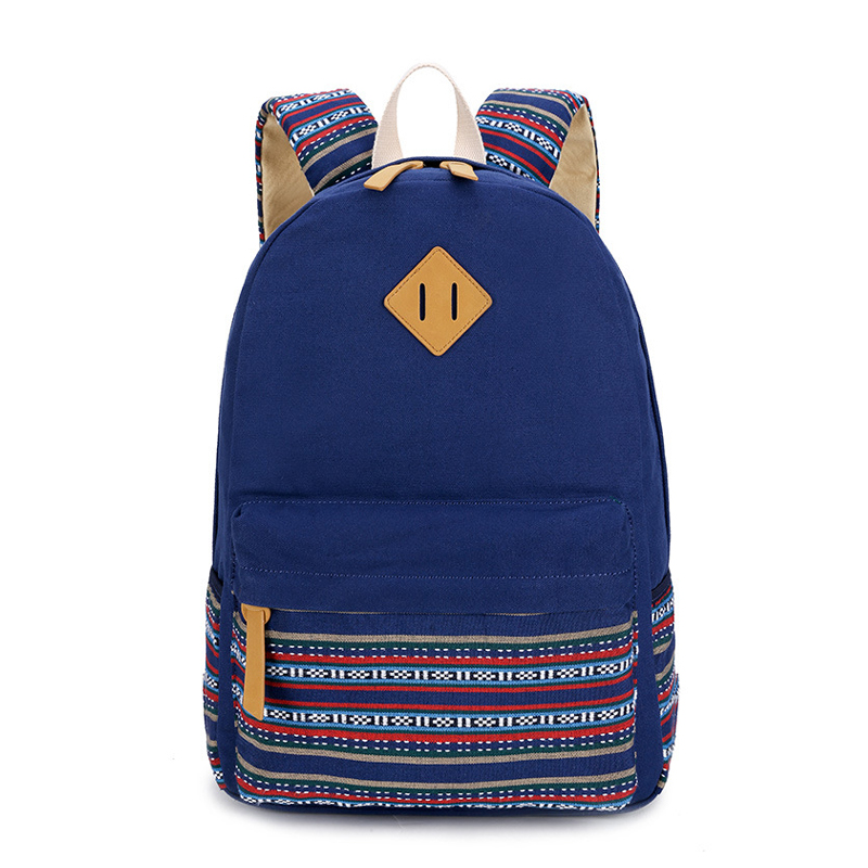 Canvas Rucksack Backpacks School Bags for Teenagers Girls Fashion Women Backpack Female Mochila HB-397 tropical doodle 3d printing mini backpack women mochila masculina who cares new canvas backpacks for teenagers girls school bags