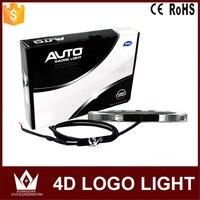 Night Lord 4D Car Emblem Light Lamp Led Front Rear Badge Sticker Light LED Light 4D