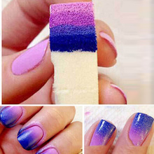 Gradient Nails Soft Sponge for Color Fade Natural Magic Simple Creative Nail Design Manicure Nail Art Tools