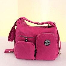 Die neue Große kapazität frauen handtaschen nylon schulter tasche damenmode messenger zurück tasche kostenloser versand