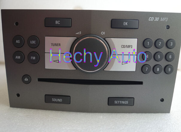 OEM CD30MP3 CD Player  96958250 for Opel CD made in Portugal NEED reprogram yourself 3 cd