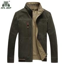 dcfab9a5bed 2018 Hot sale men outwear army jacket men zipper stand collar brand  Double-sided wear