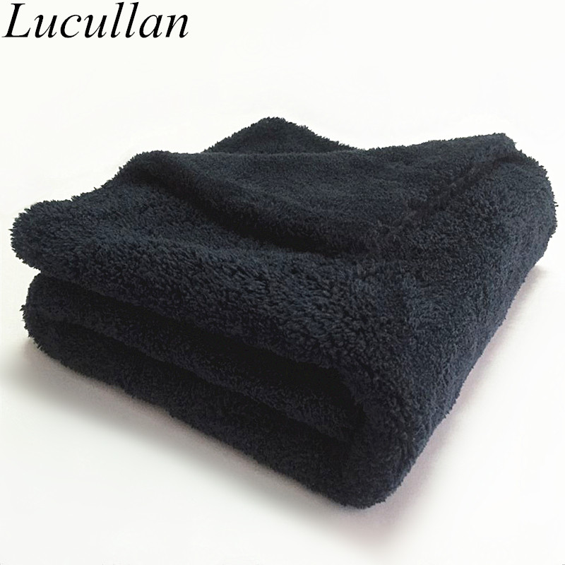 60X40CM 500GSM Premium Microfiber Car Detailing Towel Ultra Soft Edgeless Towel Perfect For Car Washing,Drying And Detailing