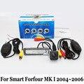 HD Lente Grande Angular Câmera Do Carro Para Smart Forfour MK I 2004 ~ 2006/RCA Fio Ou Sem Fio/CCD Night Vision Câmera de Visão Traseira