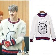 BTS JIMIN White Sweatshirt