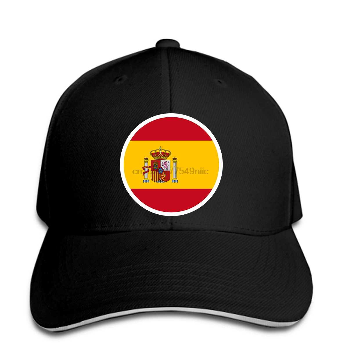 4dde1103 SPAIN men youth free custom made name number esp boy hat nation flag ...