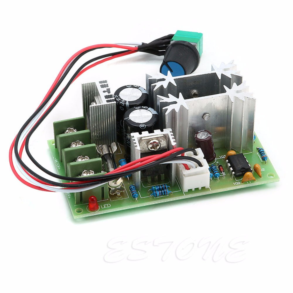 20A Universal DC10-60V PWM HHO RC Motor Speed Regulator Controller Switch - L057 New hot 20a universal dc10 60v pwm hho rc motor speed regulator controller switch l057 new hot