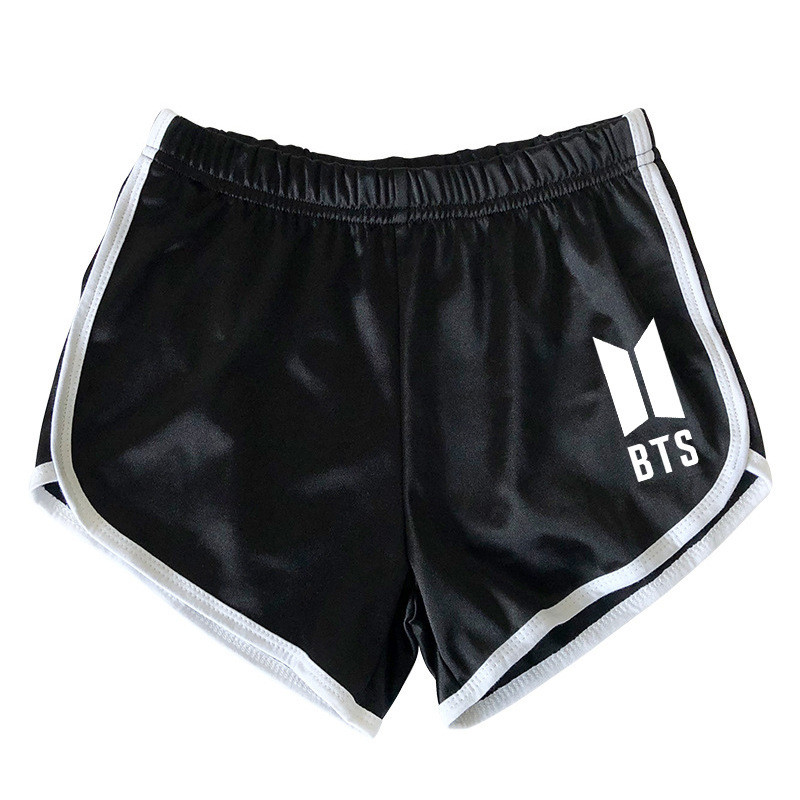 kpop BTS summer loose cotton Harajuku women   shorts   2019 korean plus size casual Breathable   short   women kpop Bangtan Boys