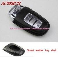 الذكية مفتاح السيارة جلد تغطية ل أودي a1 a3 a4 a5 a6 a7 a8 q5 q7 r8 tt s5 s6 s7 s8 SQ5 RS5 tt مفتاح حامي السيارات التصميم