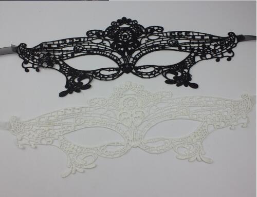 Ücretsiz kargo dantel maske şekilli maske seksi dans partisi - Tatiller ve Partiler Için - Fotoğraf 5