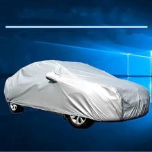 цена на Universal Car Cover PEVA Anti-UV Frozen Protection WaterProof Dust Resistant Full Cover Hatchback Sedan Snow Ice Frost Protector