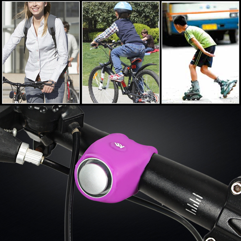 New Cycling Loud Sound Alarm Bell Bike Bicycle Safety Electric Horns 120 Decibel