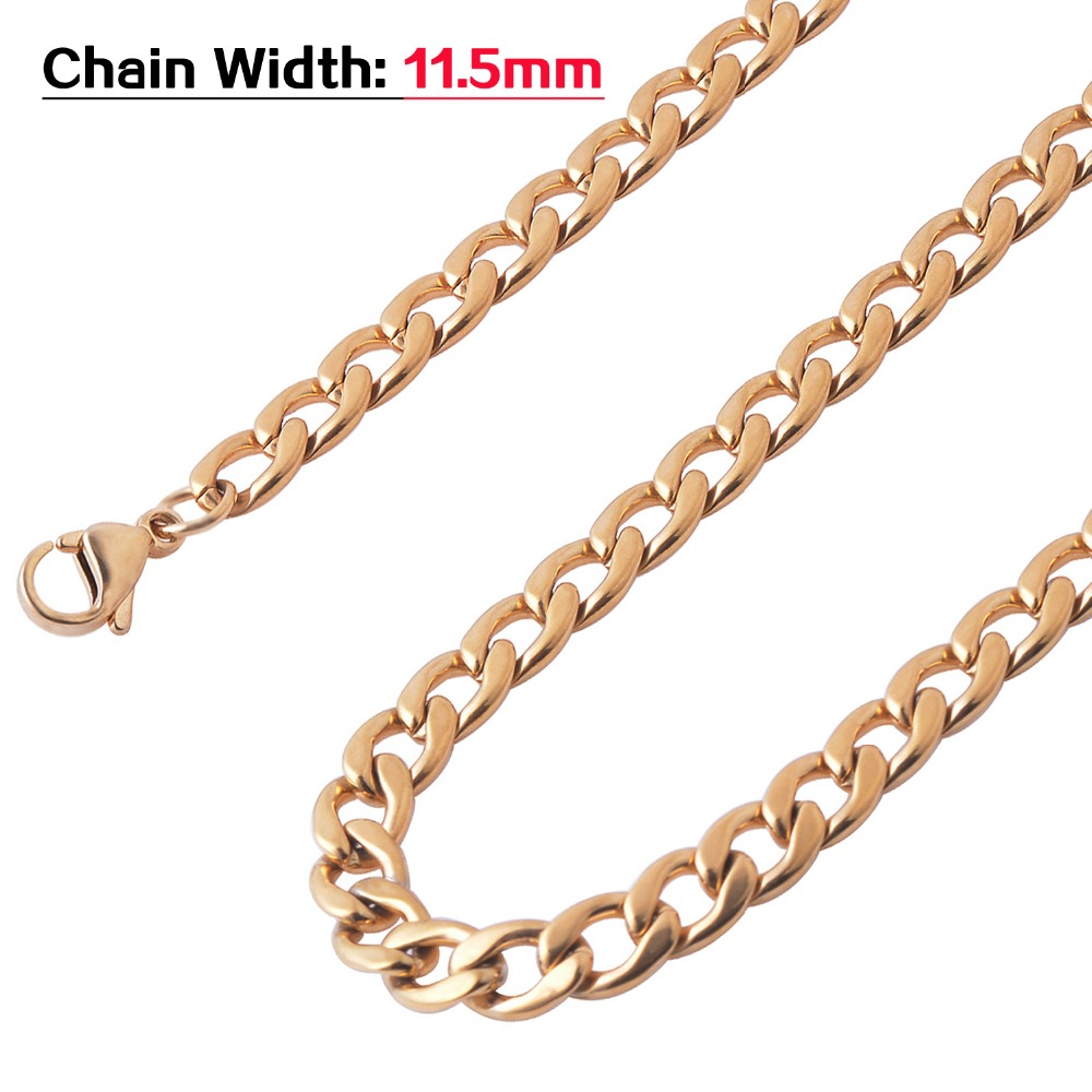 Width 1.6Mm//2Mm//2.4Mm//3Mm//4Mm//5Mm Stainless Steel Rolo Chain Link Necklace Chain 4mm Width 24 inches or 61cm