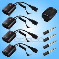 Studio AC 04B 4 Channel Radio Studio Flash Trigger Transmitter + 4X Receiver