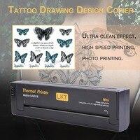 Professional Lightweight Tattoo Drawing Design Copier Portable Tattoo Transfer Machine Paper Maker Printer US/EU Plug Black