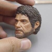 1/6 Scale The Last of Us Joe head model fit 12 Male body Model Toy Head Sculpt Carved Model F 12 Male Action Figure
