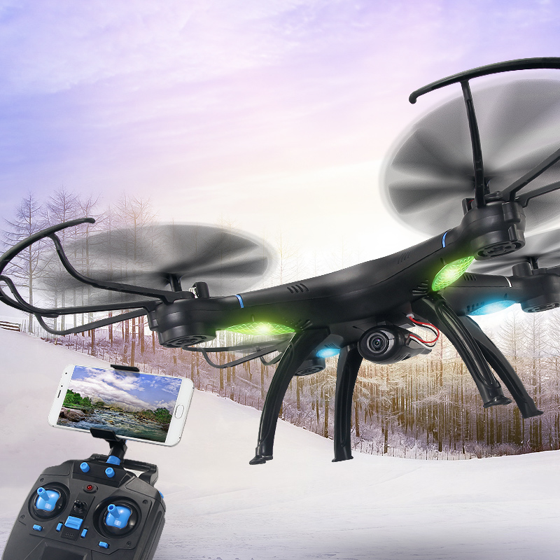 JJR/C A1 Quadcopter Drone Waterproof 2.4G 4CH 6-axis Gyro FPV 2MP Camera Wifi Remote Control Helicopter Drone