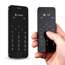 Anica a9 + dual sim karte kreditkarte bluetooth dialer sync SMS oled-display anti-verlorene FM MP3 mini zelle handy P246