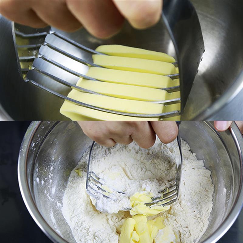 Bread Slicer Cutter Pastry Blender Stainless Steel Kue Masak