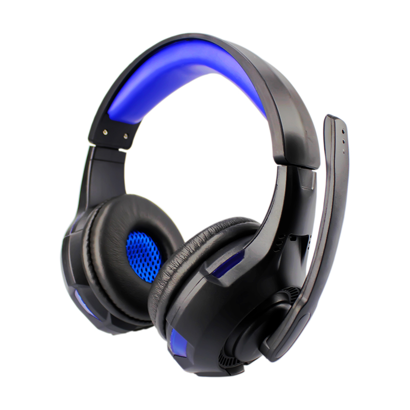Soyto Stereo Bass Computer Gaming Headset Headphone Earphone With Microphone For Computer Gamer With Led Light cd 618 crack led light cool headphone with microphone bass stereo headset earphone wired usb pro for computer gamer headband pc