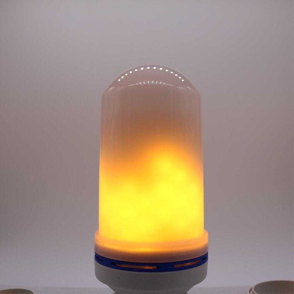 20X2017 Nuevo E27 E26 2835SMD lámpara LED efecto de la llama de luz bombillas LED 10 W parpadeo de emulación llama luces 1900 K 2200 K AC85 265V - 3
