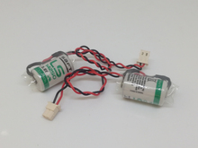Wholesale 100pcs/lot New Original SAFT LS 14250 LS14250 1/2 AA 1/2AA 3.6V 1250mAh PLC Lithium Battery With Plug k7m drt20u ls lg new and original plc