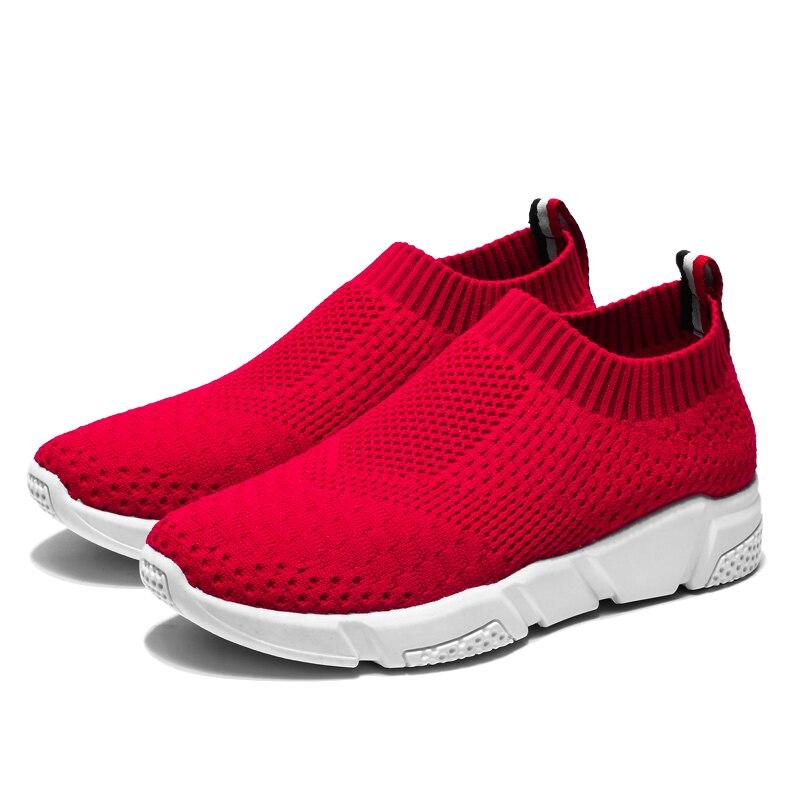 נעלי ריצה נוחות לבנות - לוקו0ט