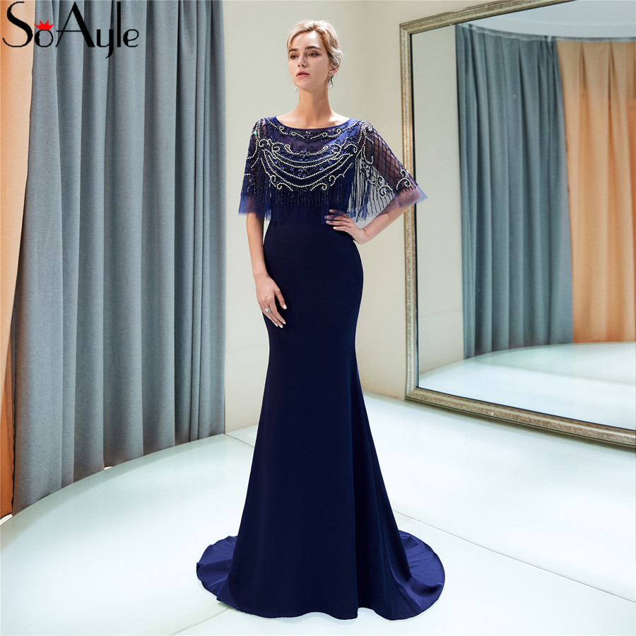 8e9200c83a9 Buy cape evening dress and get free shipping on AliExpress.com