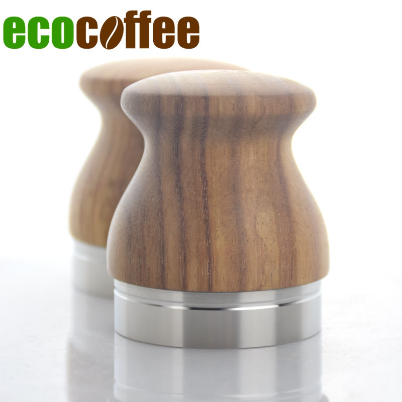 Ecocoffee 2018 New 304 Stainless Steel Coffee Distributor Rosewood Handle Espresso Tamper 53MM 58MM Hammer for Coffee MachinesEcocoffee 2018 New 304 Stainless Steel Coffee Distributor Rosewood Handle Espresso Tamper 53MM 58MM Hammer for Coffee Machines