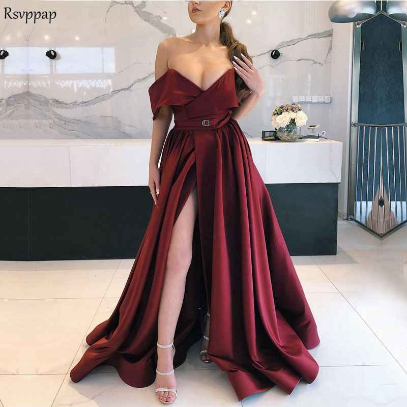 caae35e502926 Detail Feedback Questions about Long Sexy Evening Dress 2019 High ...