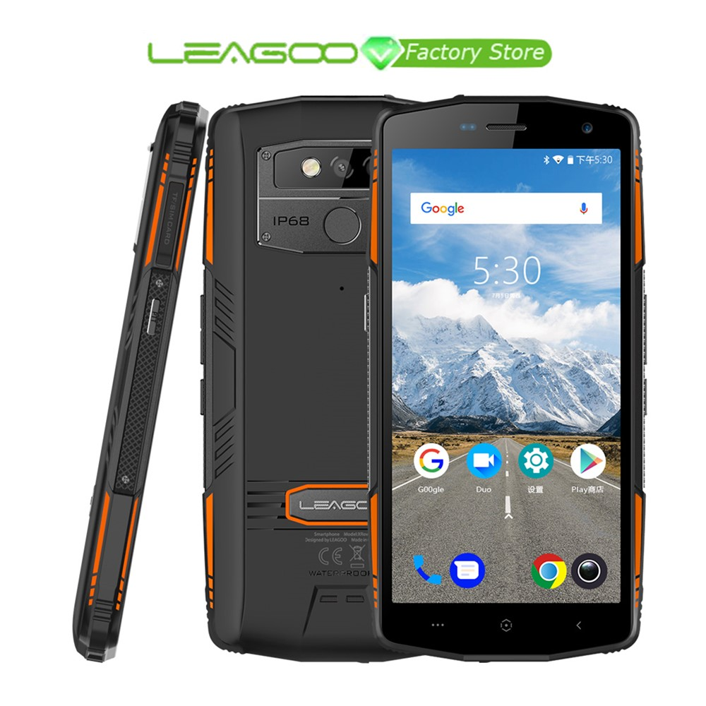 LEAGOO XRover Smartphone IP68 NFC Face Unlock 5 72 IPS Octa Core 6GB 128GB 13MP Dual