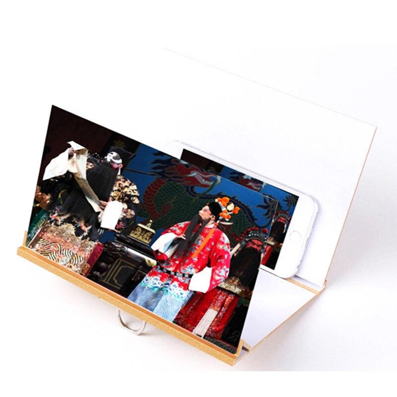 Lazy-Bracket Amplifier Eye-Glass Video-Eye Mobile-Phone Magic Peephole Hot-Sale 5D HD