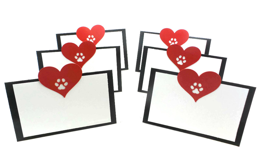 Set of 50 Dog Party Place Cardsdog themed party supplies Paw Print Decorations table cards Dog birthday place card-in Party DIY Decorations from Home ...  sc 1 st  AliExpress.com & Set of 50 Dog Party Place Cardsdog themed party supplies Paw Print ...