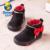 2015 BABAYA marca diseño Invierno nueva solid flock warm gruesa berber felpa polar bebé toddle niñas shoes baby girls de arranque