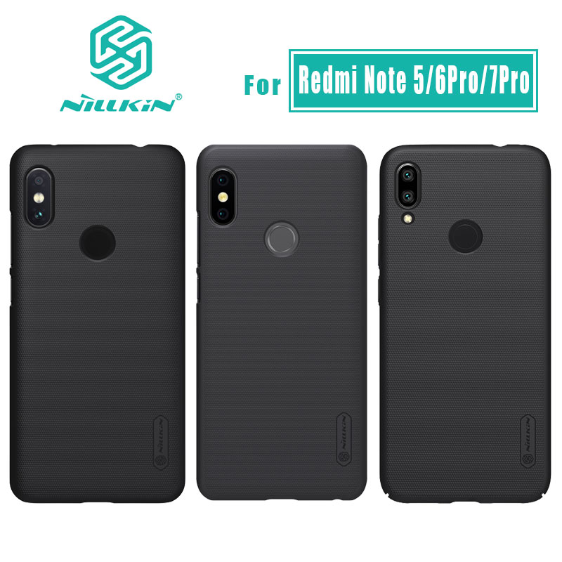 Nillkin for Xiaomi Redmi Note 8 7 6 5 Pro 4 4X Case Cover Frosted Shield PC Back Case for Xiaomi Redmi Note 9 7 6 5 Pro Case