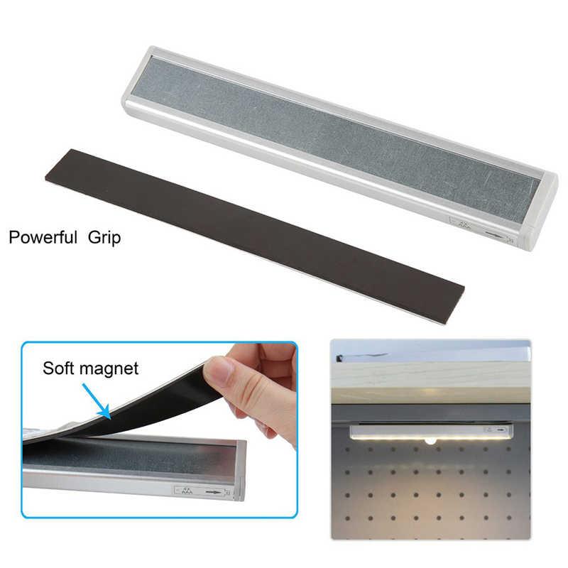 Sensor de movimiento PIR luz LED para debajo de gabinete encendido/apagado automático 6/10 LEDs para cocina dormitorio Armario de noche de Armario Luz