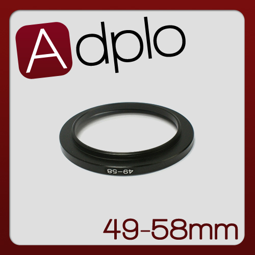49 58 MM 49MM to 58MM Step Up Ring Filter Adapter