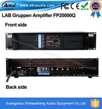 2200W 8 ohms 4 channels professional audio power amplifier LAB gruppen fp20000q