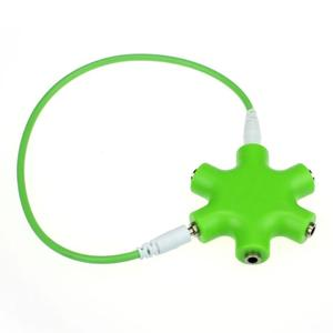 Factory Price Binmer Hot Selling 3.5mm Headphone Earphone Audio Splitter 1 Male to 2 3 4 5 Female Cable Drop Shipping