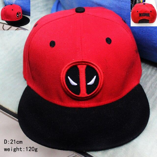 Deadpool Superman verano hip hop SnapBack gorra de béisbol anime Cap Hat  para hombres gorras ocasionales 3857a76ad07