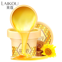 LAIKOU Milk honey nourishes hand wax Hand font b Care b font Moisturizing Whitening font b