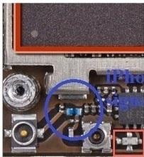 20pcs/lot Original antenna signal blue inductor coil for iPhone 4 4G No Signal or weak GSM signal fix repair part
