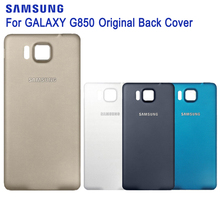 Original SAMSUNG Battery Cover Case For Samsung GALAXY Alpha G850 G850Y G850K G8509V G850A G850F G8508S Phone Backshell