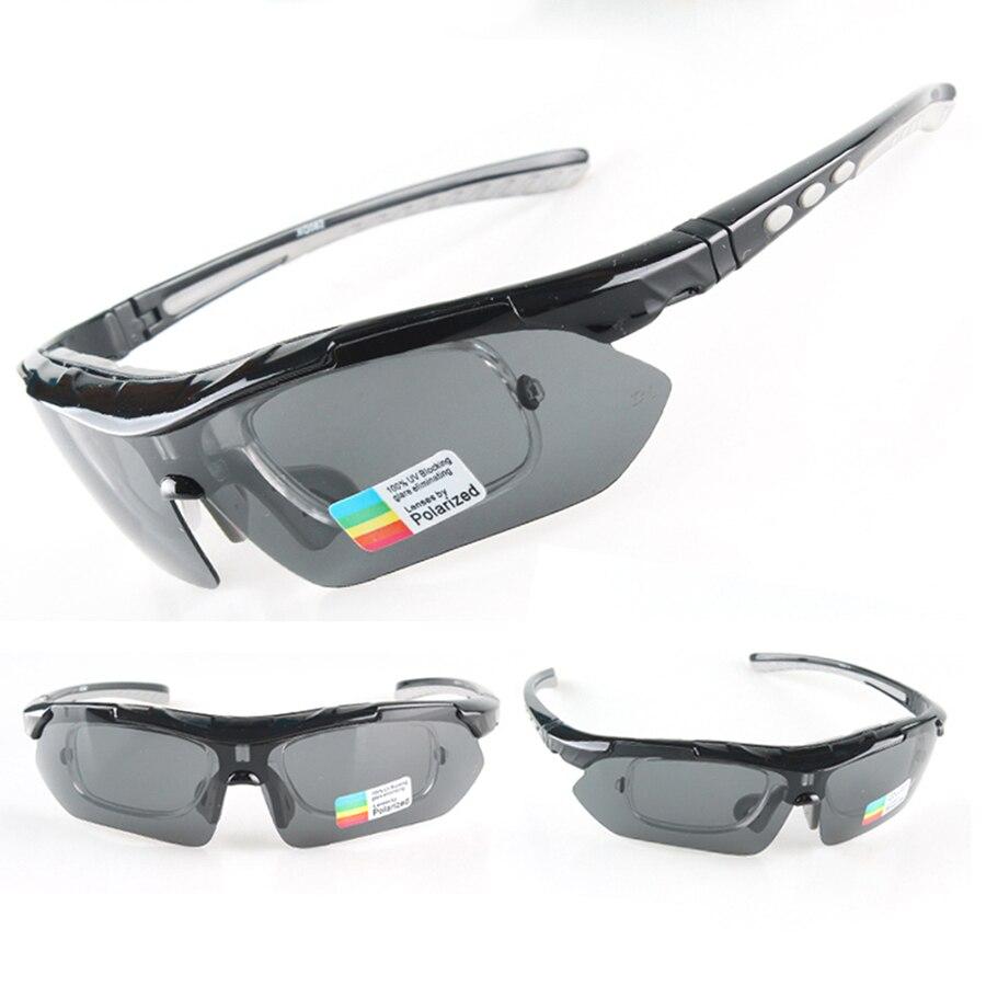 2017 Cycling Glasses Polarized font b Sports b font Sunglasses 5 Lens Bike font b Eyewear