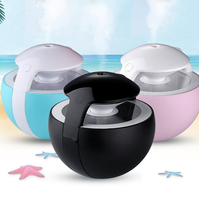 Mini USB Ultrasonic Humidifier Night Elves Air Humidifier Aroma Essential Oil Diffuser Aromatherapy for Office SPA dropshipping
