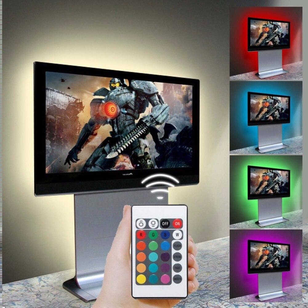 DC 5V Colour Changing LED Strip TV Home Theater LED
