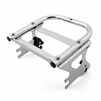 Areyourshop Motorcycle Detachable Two Up 2 up Tour Pak Mounting Luggage Rack for Harley Part 1997 2008 Motorbike Cover