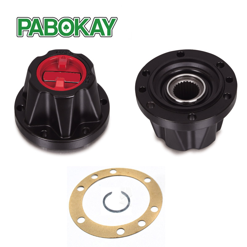 2 Pieces x FOR SUZUKI Samurai Sierra Vitara manual Free wheel locking hubs B030HP AVM538HP